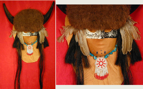 Buffalo Head Mask (NOT Native)