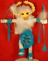 "Navajo 10""  Tribal Fox Kachina"