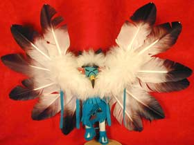 "Navajo 6"" Tribal Eagle Kachina"