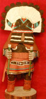 Hopi Broad Face Guard Kachina (Katsina)
