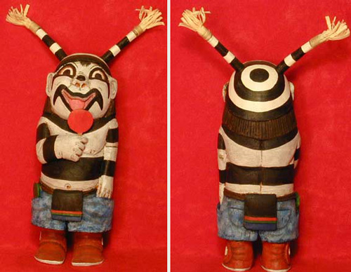 Hopi Happy Clown Kachina (Katsina)